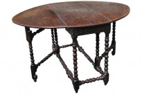 180 Early 18th C Oak Table £1100 Front 1