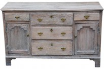 366 Georgian Limed Oak Dresser Front 1